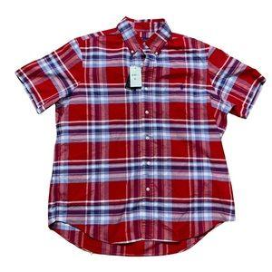 Polo Ralph Lauren Stripe Button Down Shirt Mens Classic Fit Short Sleeve